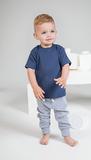 T-shirt baby's knoop schouder_