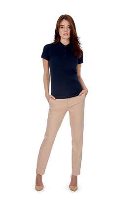 Polo Dames Lang Classic Fit
