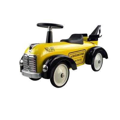 gele takelwagen
